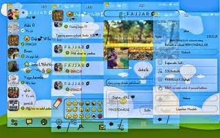 BBM Mod Parallax Tema Biru Langit 2.8.0.21 Apk