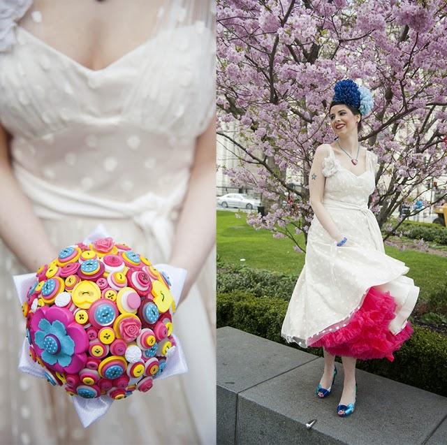 mariage jaune bleu et jaune et rose