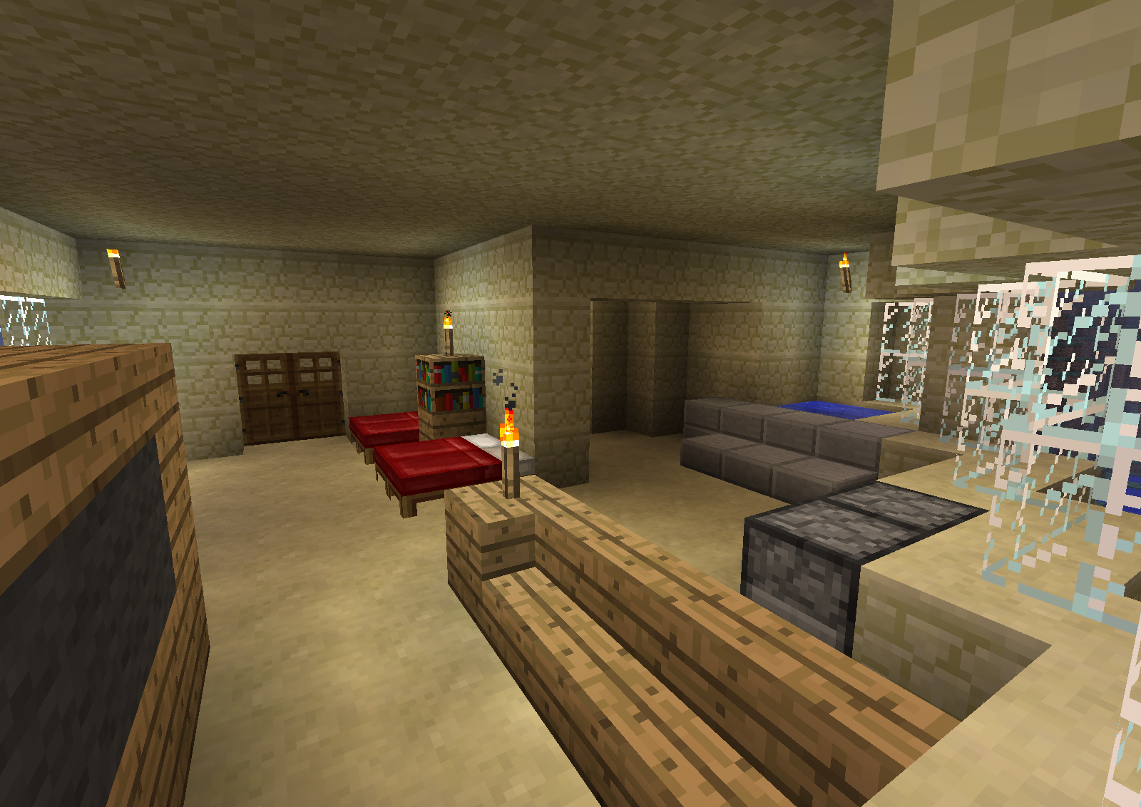 Gallery For Minecraft Hotel Room Interior