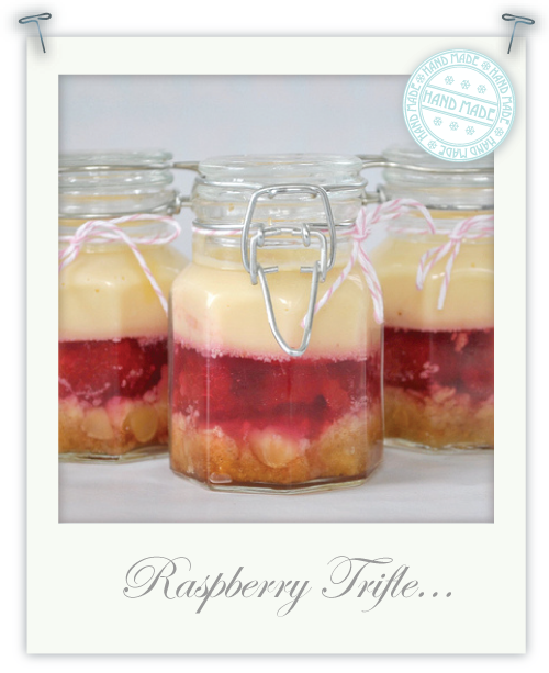 Mini gluten free raspberry trifles by Torie Jayne