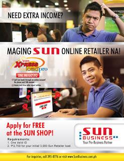 Sun XpressLoad Pro Onlinegosyo