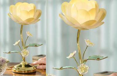 Something Amazing 12 Beautiful Flowers Shaped Lamps