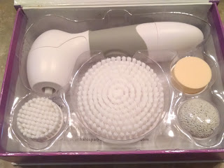 halospace advanced cleansing facial brush
