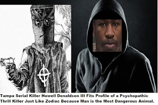 TAMPA Serial Killer Howell Donaldson III in my opinion is a psychopath