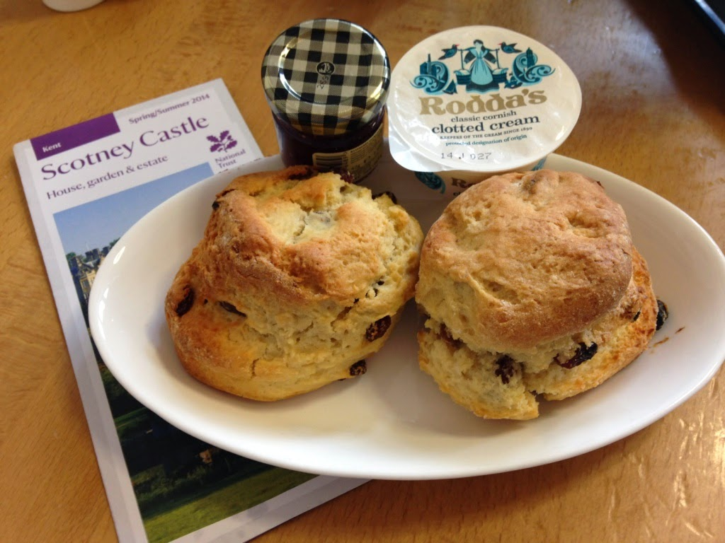Scotney Castle scones