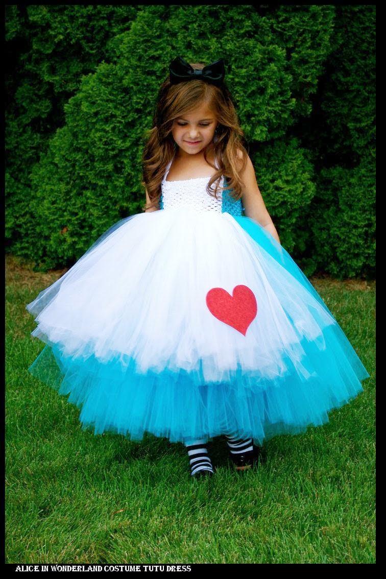 Детское пышное платье своими руками