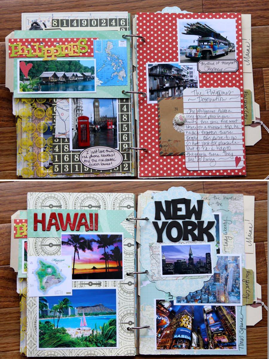 Scrapbook ideas hawaii - Magpie Club Scrapbooking