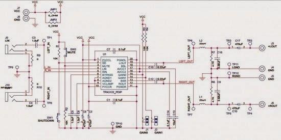TPA3122D2 Class D Audio Amplifier