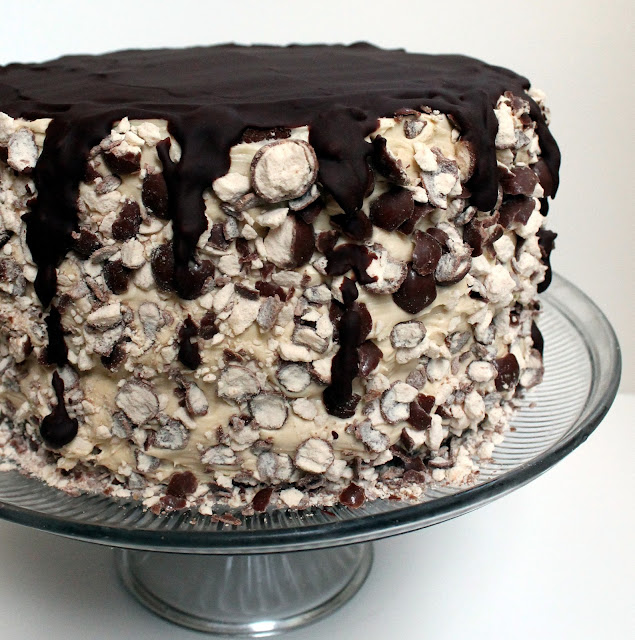 The Stay At Home Chef: Triple Malt Chocolate Cake