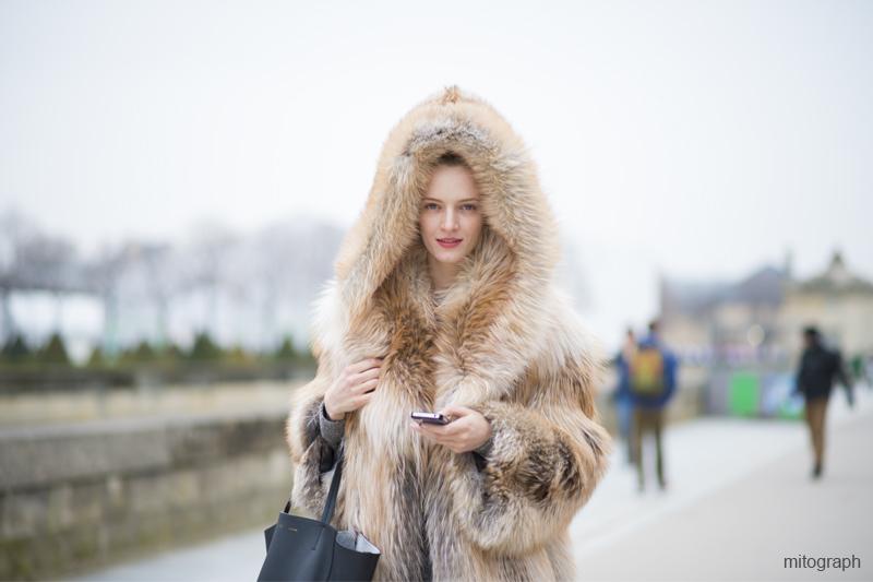 mitograph Daria Strokous After Dior Paris Fashion Week 2013 2014 Fall Winter PFW Street Style Shimpei Mito