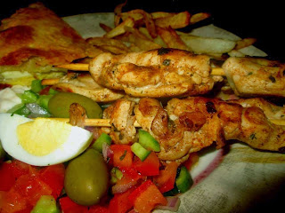 Recette de salade Tunisienne