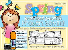 Spring Print & Practice Problem Solving