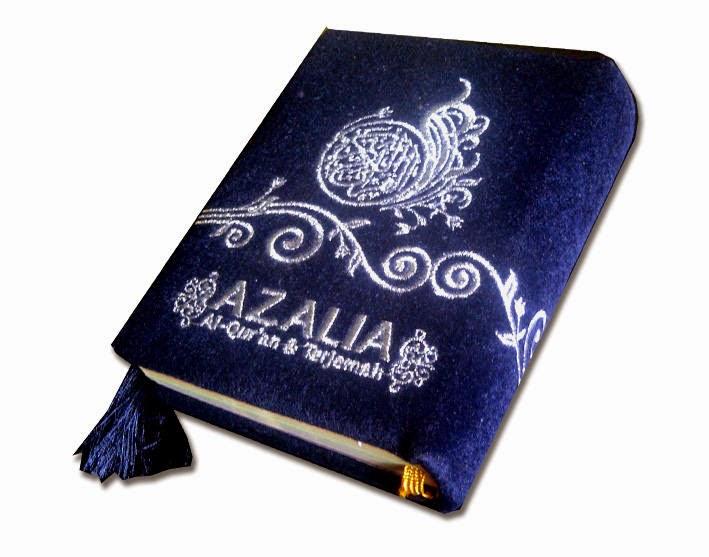 Al-Quran Azalia (Bludru)