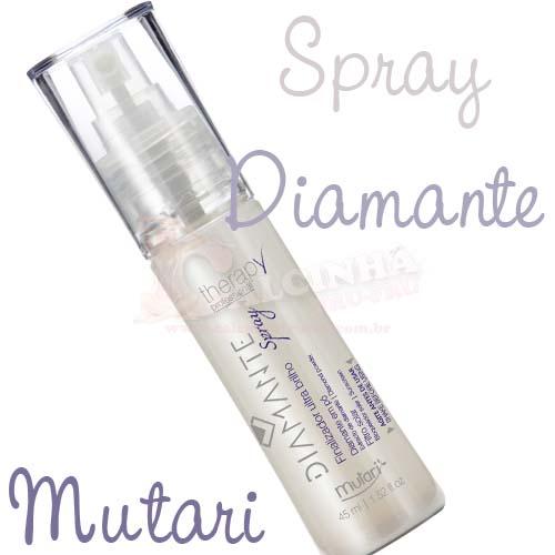 Spray Finalizador Diamante em Pó - Mutari