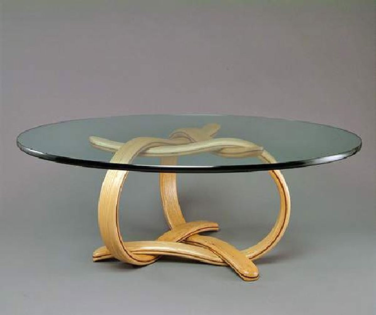 Glass furniture for interior design dream house experience Designer glass coffee tables