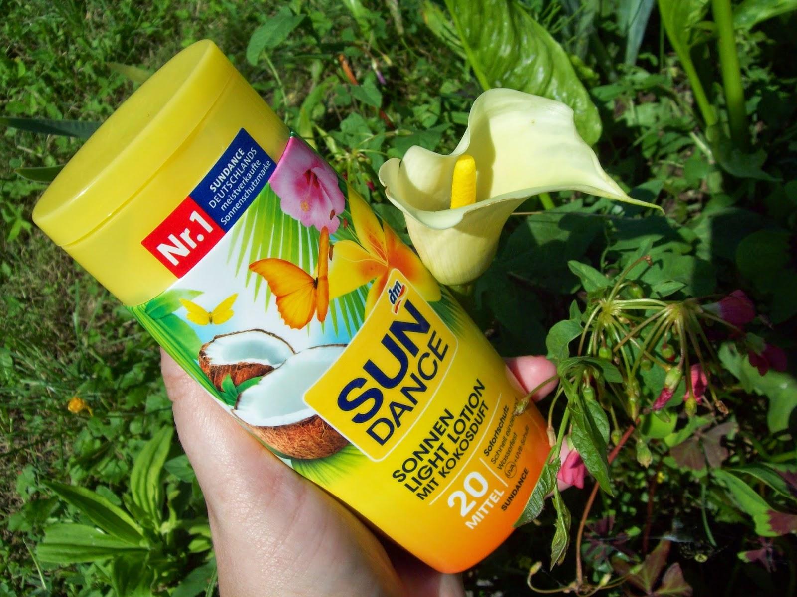 Sun Dance: mlieko na opaľovanie Sonnen Light Lotion LSF 20