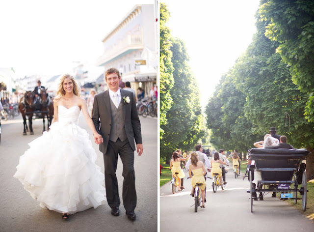 27.28 Tandem Bike wedding