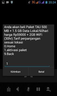 Begini Cara Mudah Daftar Paket Internet Telkomsel 2GB Per 2 Bulan Di Loop