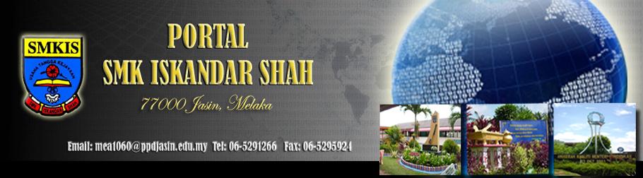 Portal Rasmi SMK Iskandar Shah Jasin Melaka