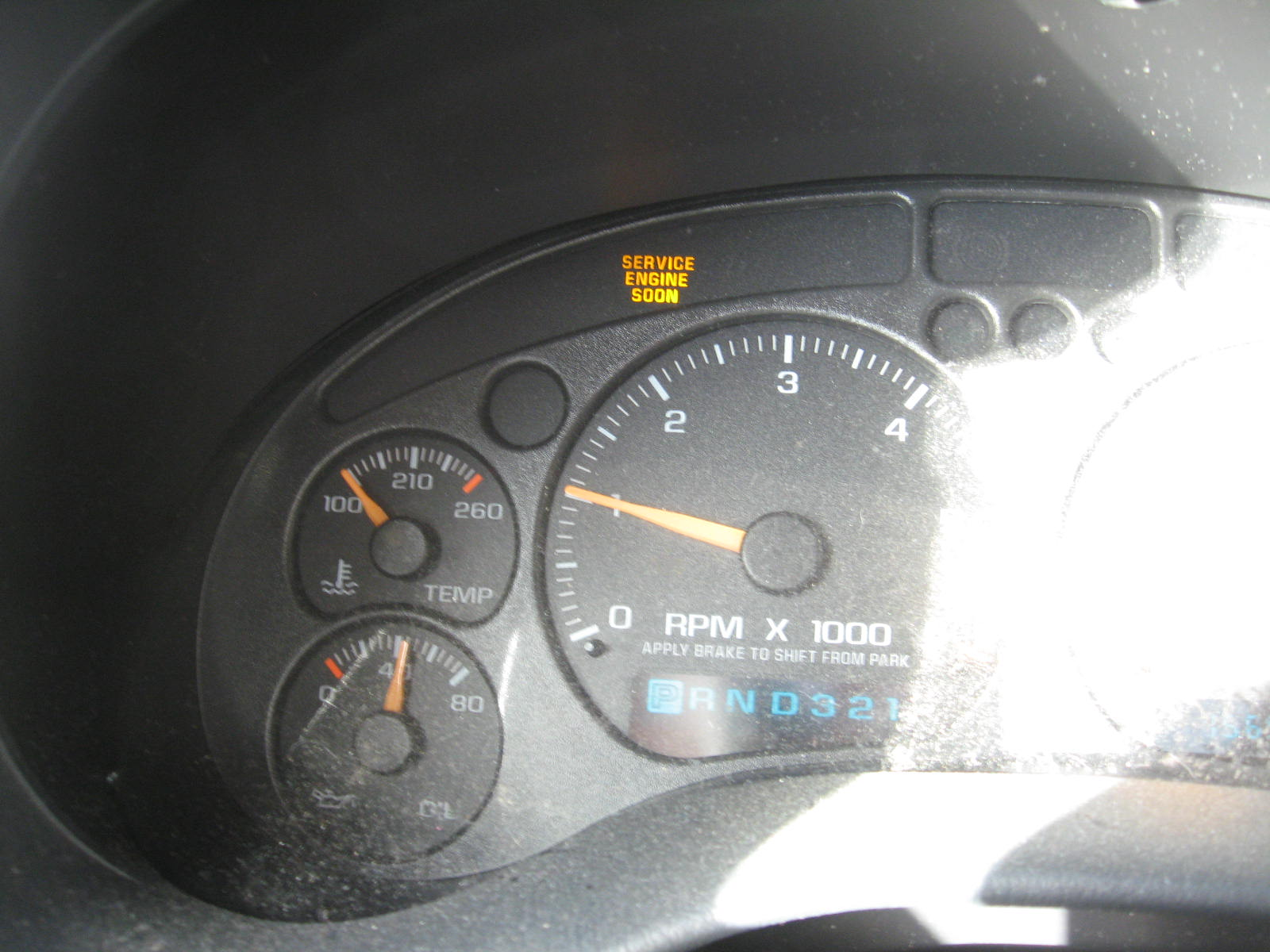 This 2002 Blazer service engine soon light came on indicating the computer  had stored an onboard diagnostic 2 (OBDII) trouble code.