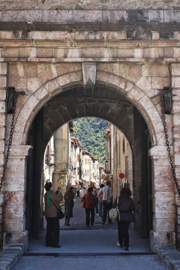 Spanish Gate of Villefranche de Conflent