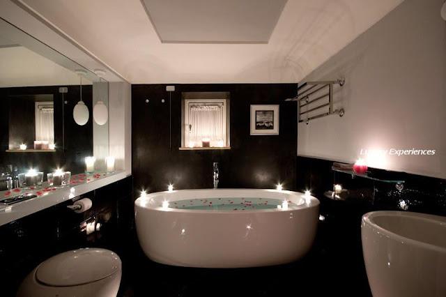 Sonar Con Un Baño Inundado:Aquí he recogido varias fotos de baños en todos los estilos