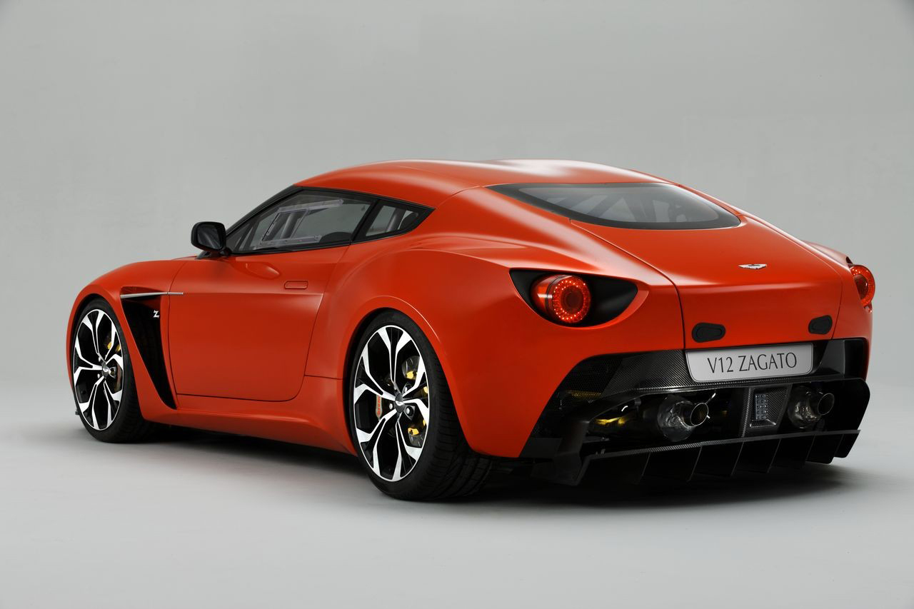 2013 aston martin v12 zagato release world of car fans. Black Bedroom Furniture Sets. Home Design Ideas