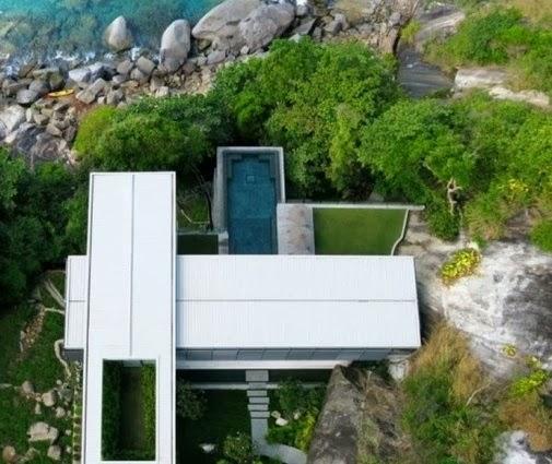 Model Rumah Tropis Gaya Barat