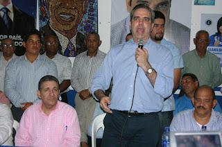 Luis Abinader: sequía demuestra incapacidad de Danilo para gobernar