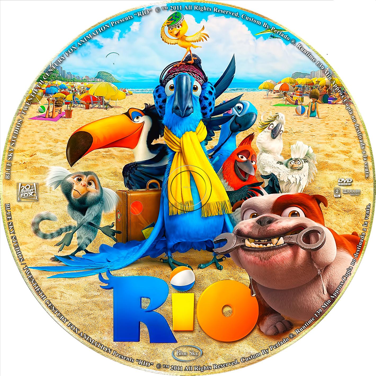 Rio DVD Cover