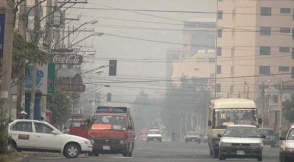 Contaminación en Cochabamba
