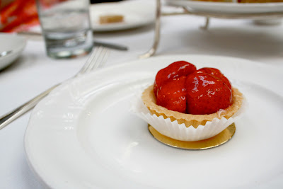Strawberry tart from afternoon tea at Butler's at The Chesterfield Mayfair