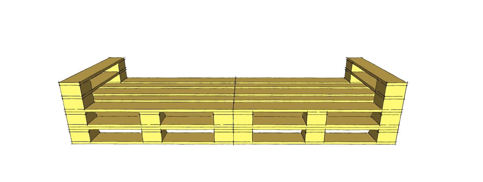 Schienale divano con bancali idee creative e innovative for Poste mobili 0 pensieri small