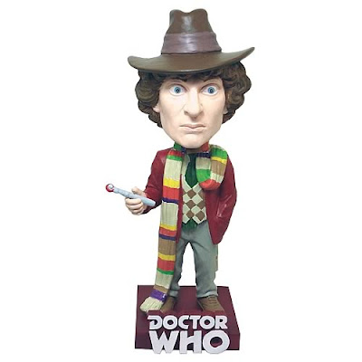 San Diego Comic-Con 2012 Exclusive Doctor Who Fourth Doctor Bobble Head by Bif Bang Pow!