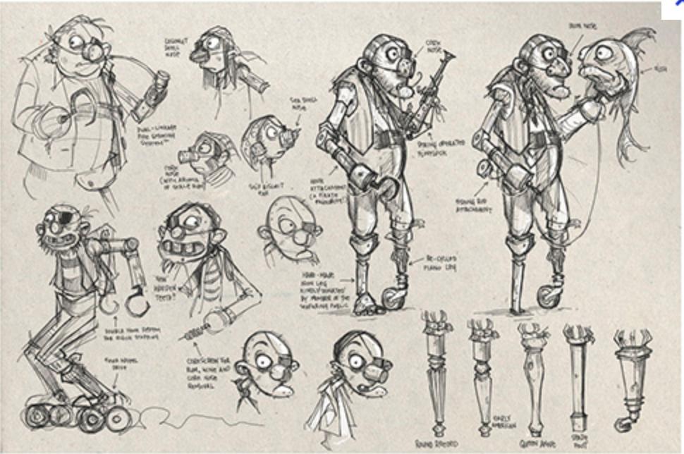 Character Design Work : Itap character emotion storytelling neil bunce model