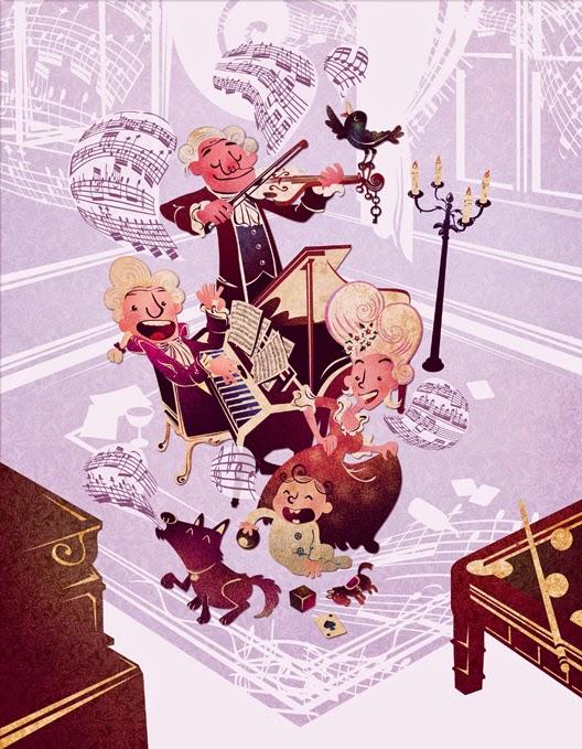 Mozart by Carlos Araujo