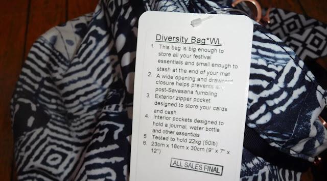 lululemon wanderlustdiversity-bag