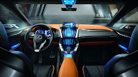 Lexus LF-NX Crossover Concept dash