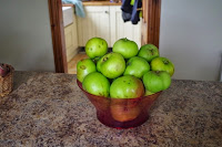 Bramley apples - lots of pies and crumbles here!