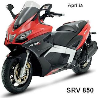 New Aprilia SRV 850