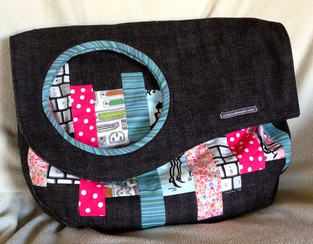 Purse Palooza :: Pattern Review : Drop Top Messenger Bag