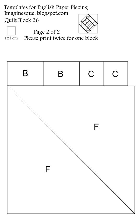 free quilt block pattern