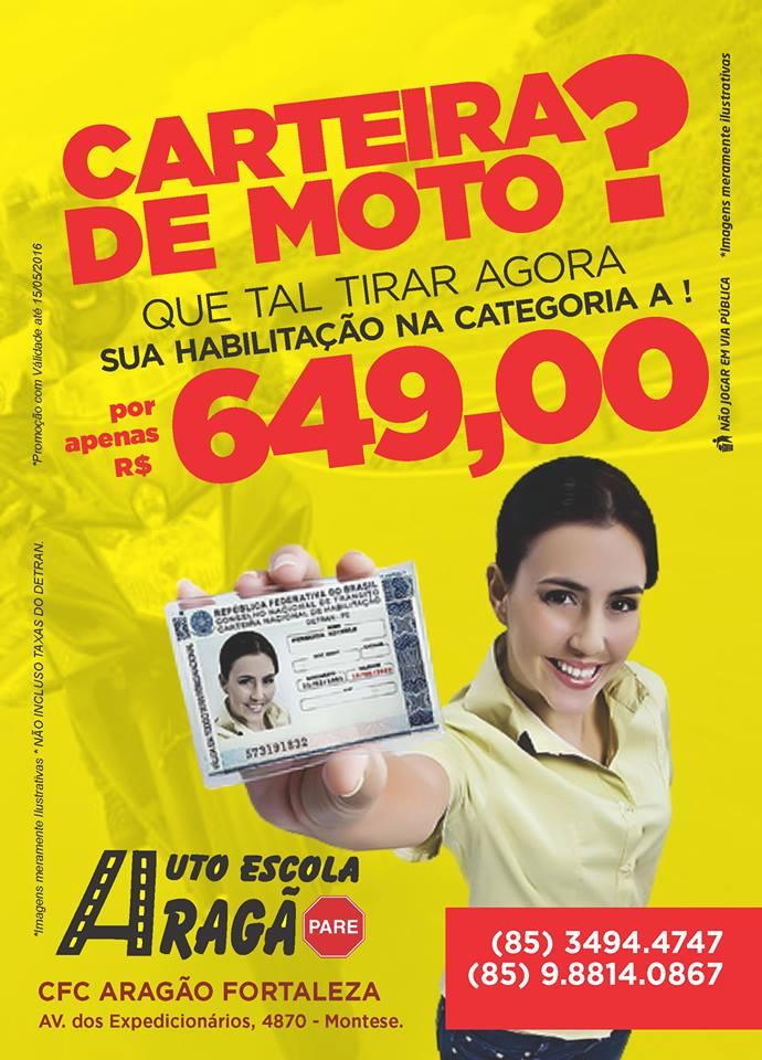 AUTO ESCOLA ARAGÃO 85 3319 1249