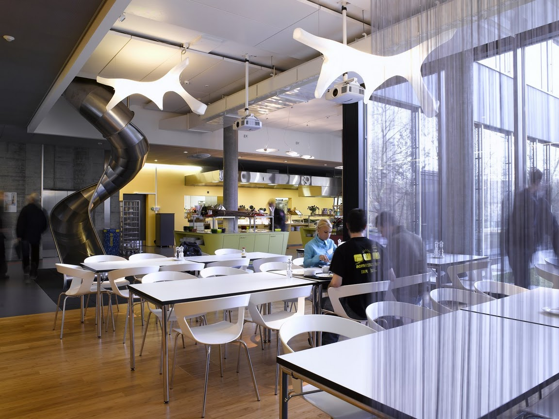 Unbelievable offices  Google office in Zurich  Most Beautiful