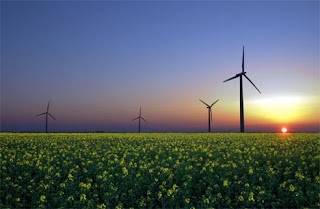 Wind turbine renewable energy