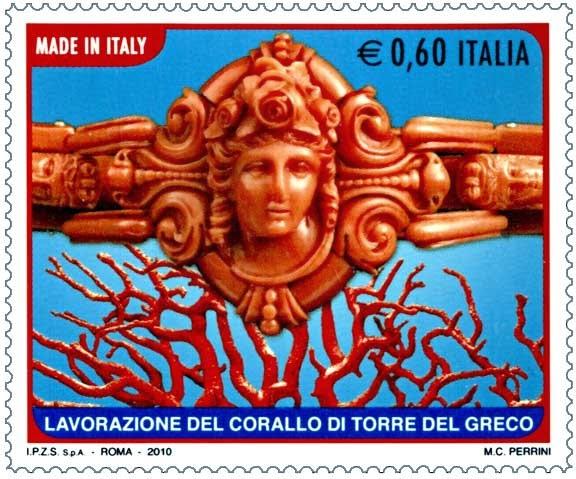 кораллы из италии