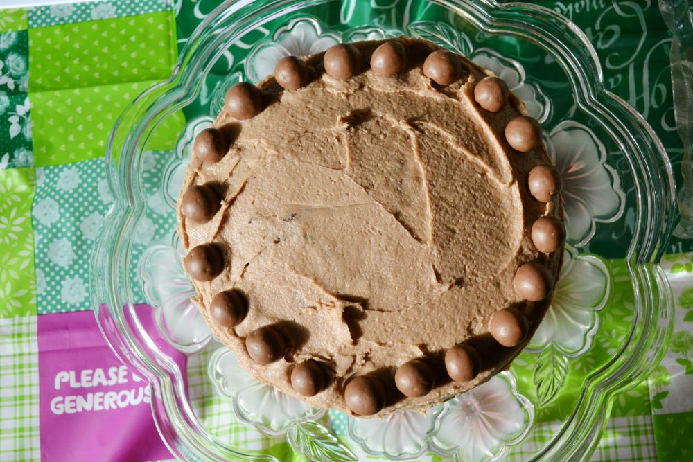 malteser cake nigella chocolate