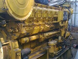used caterpillar marine generators