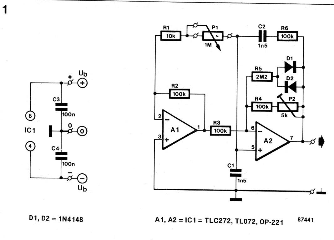 Sine Wave 555 Highpass Filter Circuit 555circuit Diagram Seekiccom Variable Oscillator Diy 1068x767