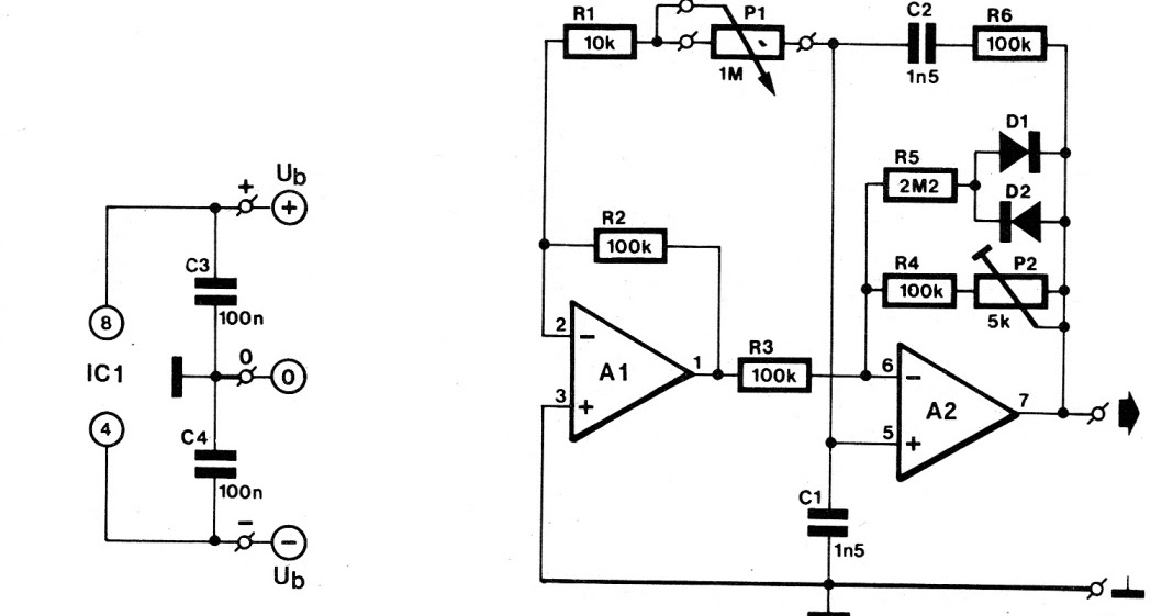 variable sine wave oscillator circuit